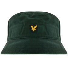 BNWT Lyle & Scott HE800A Bucket Hat One Size Dark Jade Green RRP £25 Pretty