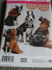 SEWING PATTERN S1031 DOG PET  CLOTHES COAT HAT SIZE SMALL TO LARGE NEW UNCUT