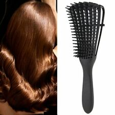 Hair Scalp Massage Comb Bristle & Nylon Hairbrush Wet Curly Detangle Hair Brush