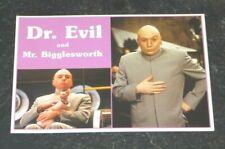 Austin Powers International Man of Mystery Postcard Dr Evil and Mr Bigglesworth