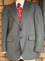 Vintage Trevira German Bavarian Suit Size 40 Regular (See Measurements) Grey