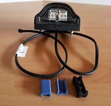 LED Kennzeichenleuchte Regpoint mit  DC Kabel