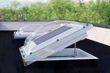 Flachdach Fenster Lichtkuppel FAKRO DEC-C 90x90cm Z-Wave elektrisch gesteuerten