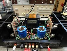 David Hafler DH-200 Power Amp Gold Factory Certified With Upgrades !!
