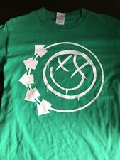 Vintage - Blink-182 T-Shirt - Green - Size: Small - 100% Cotton - Pop Punk