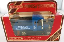 MATCHBOX MODELS OF YESTERYEAR Y12 MODEL T FORD LOW SIDED TRUCK LIMITED EDITION.