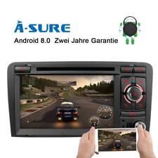 Android 8.0 DVD GPS Autoradio für AUDI A3 RS3 8P 8V 8PA Octa-Core 4G RAM 32G ROM