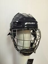 New - Bauer Re-Akt Hockey Helmet Combo - Color Navy - Size XSmall