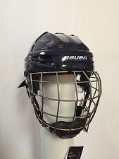 New - Bauer Re-Akt Hockey Helmet Combo - Color Navy - Size XSmall