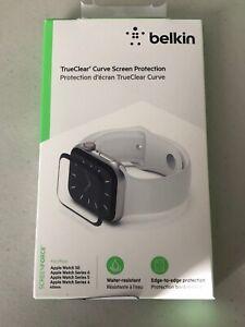 Belkin Apple Watch Series 6 40mm Screen Protector, Edge-to-Edge Coverage   B89