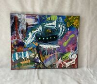 Original Painting Hand Painted Modern Wall Art Abstract Acrylic Canvas Signed