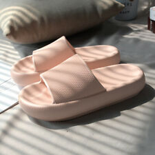 Chic Womens Platform Open toe Slip on Casual Slippers Shoes Summer Beach Sandals