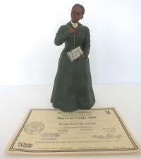 """New ListingAll God'S Children 9.5"""" Frances Harper Figurine W/ Coa & Box"""
