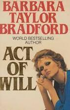 Act of Will By Barbara Taylor Bradford. HARDCOVER - FREE FAST DELIVERY