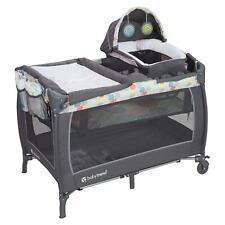 Baby Trend Lil Snooze Deluxe Crib Play Area Ii Nursery Center Playard, Funfetti