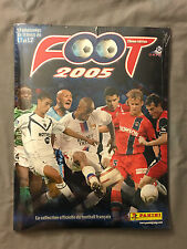 Album Panini Foot 2005 Complet set + album sous blister