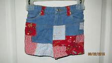 Baby Toddler 2T Copper Key Skirt Denim Western Patches Horseshoe Cactus Saddle