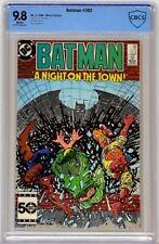 Batman #392 DC 1986 CBCS 9.8 White Pages Equals Top CGC Census Grade