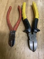 2 Pcs Cutting Plier Unbranded With Goshion Grip