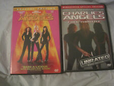 Lot of 2~Charlie's Angels~1st Movie and Full Throttle~DVD~LBDVM