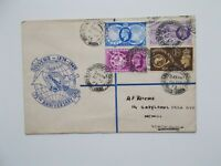 GVI 1949 U.P.U. Set on Illustrated First Day Cover - Scarborough Yorkshire Cds