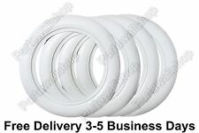"""15"""" Wide Whitewall Portawall Tire insert trim set of 4 .Fit: FORD CHEVY"""