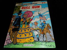 Lambil / Cauvin : The tunics blue 27 : Bull Run (with ironing ticket)