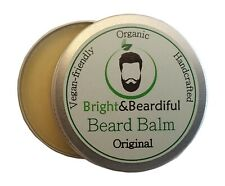 Unfragranced Leave-in Beard Balm for Styling, Taming, Soften & Conditioning 30ml