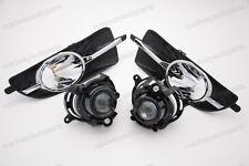 w/Bezel Bulbs Clear Lens Driving Fog Lights Kit for Buick Lacrosse 2010-2013