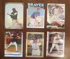 Atlanta Braves 430+ Card Lot - Acuna Jr, Ozzie, Chipper, Freeman, Pache, Riley