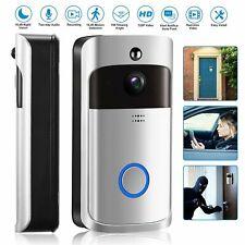 Wireless WIFI Smart Doorbell HD Video Camera Ring IR Night Vision Home Security