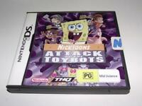 Nicktoons Attack of the Toybots DS 2DS 3DS Game *Complete*