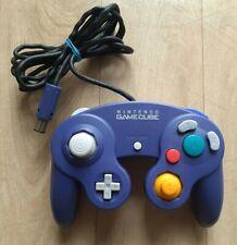 Manette Nintendo Gamecube GC Violet Purple Controller Pad - Très Bon Etat