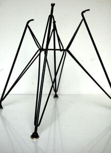 Black Eiffel Tower Chair Base for Vintage Herman Miller Eames Shell DSR DAR