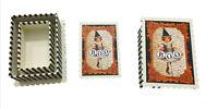 Boo Vintage Trick or Treat Girl Decorative Trinket Boxes Set of 2