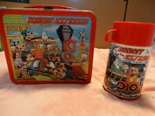 Vintage Disney express lunchbox with thermos Aladdin