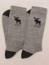 Merino Wool Grey Hiking / Walking socks ONLY  £3.89!! with FREE POST TO UK