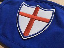 Mascherina in cotone blue royal scudo Genova sampdoria Taglia L/XL