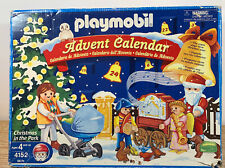 Playmobil 4152 Christmas in the Park Advent Calendar Retired 2005