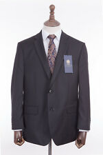 Men's Suit Savile Row Alexandre Black 2 Piece Regular Fit 42S W40 L29