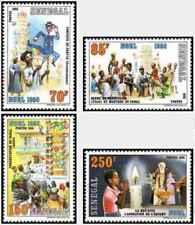 Timbres Religion Noel Sénégal 680/3 ** lot 24460