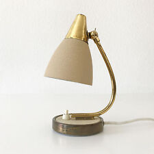 Mid Century Modern GEBRÜDER COSACK Bedside Table Lamp GERMANY Kalff SARFATTI Era