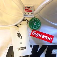 New Supreme Hoodie Sweatshirt (White)