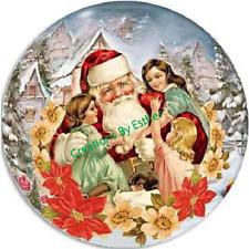 New listing Christmas Holiday Pins / Pinbacks - 16 Designs Available