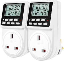Digital Daily Programmable Timer Plug Socket with Countdown and Periodic ON-Off