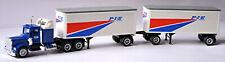 Kenworth W 900 Semi-Remorque + Remorque Roadtrain P I E Nationwide Herpa 850009