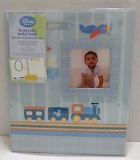 New Disney Baby Little Explorer Keepsake Baby Book BlueMB8-8660 Photo Frame Page
