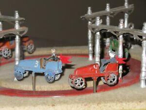 RARE! Antique 1890's Jeu De Course Automobile RACING GAME Trade Stimulator Horse