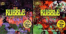 various RUBBLE vol.1-10 & 11-20 - 2 BOX - 20CD FALLBOX001/002 UK PSYCH LONG OOP