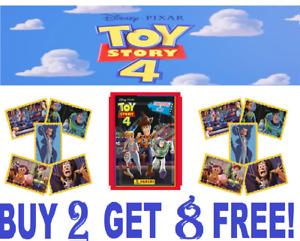 Panini TOY STORY 4 ☆ SINGLE STICKERS  ☆ BUY 2 GET 8 FREE ☆  Disney/Pixar